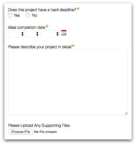 Increase Employee Productivity with a Project Details Form