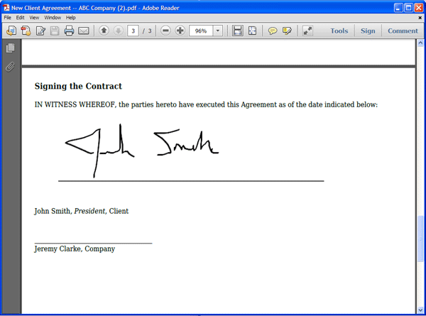 Collect Digital Signatures on Your PDF Forms