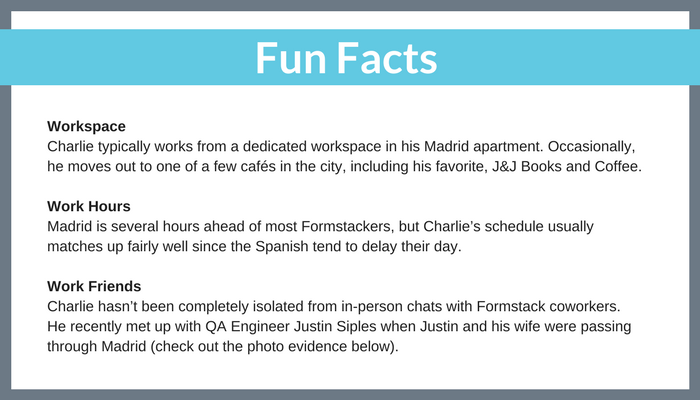 Remote working fun facts