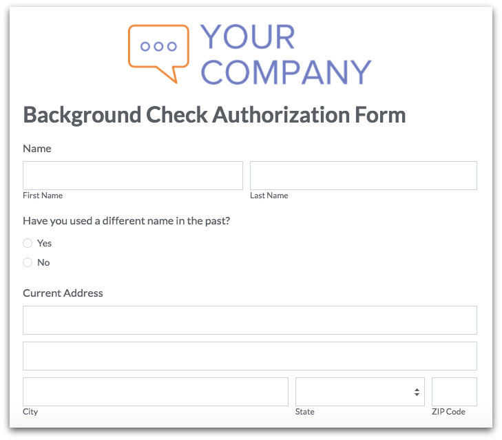 employee onboarding forms