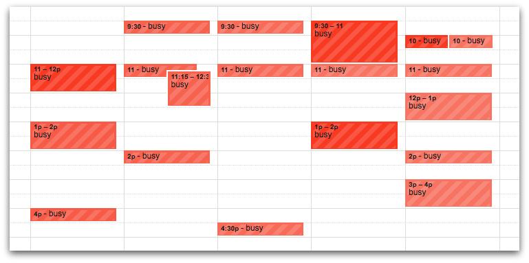 Remote Collaboration Tool: Google Calendar