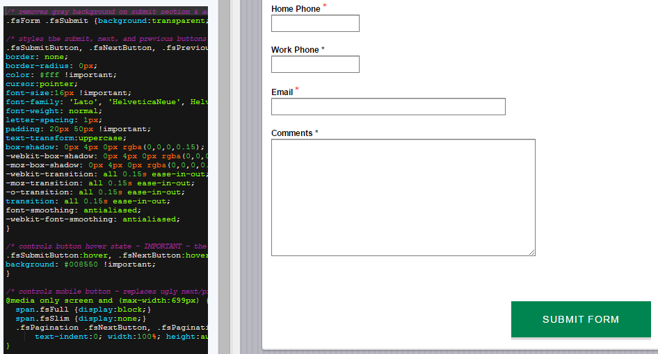 Change-Form-Button-CSS