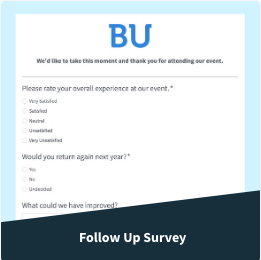 follow up survey example