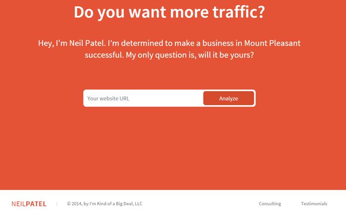 NeilPatel_LandingPage