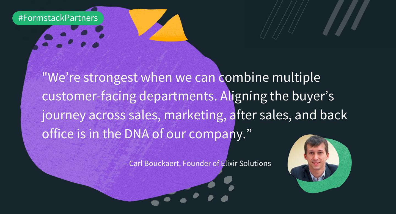 Carl Bouckaert discusses the DNA of Elixir Solutions