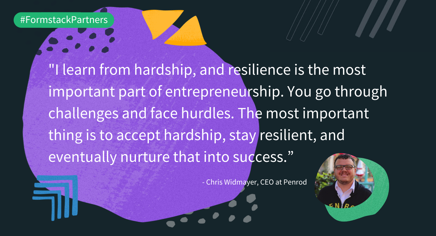 Chris Widmayer of Penrod discusses resiliency in entrepreneurship.