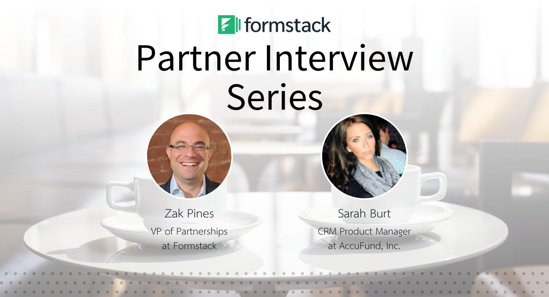 Formstack Partners: Sarah Burt of AccuFund.