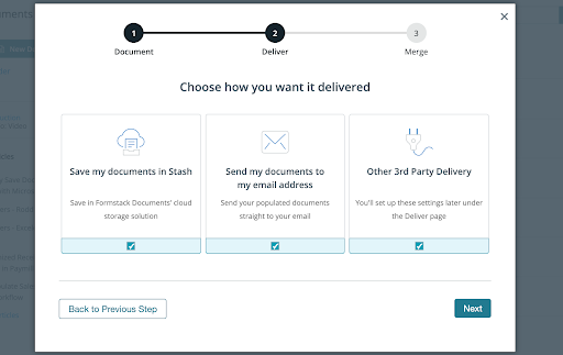 Formstack Documents new document delivery