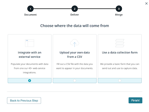 Formstack Documents data