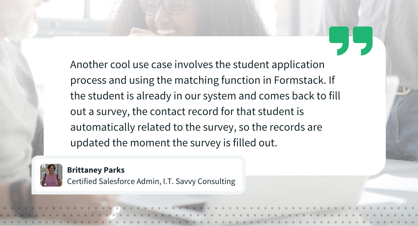 Brittaney Parks I.T. Savvy Consulting + Formstack