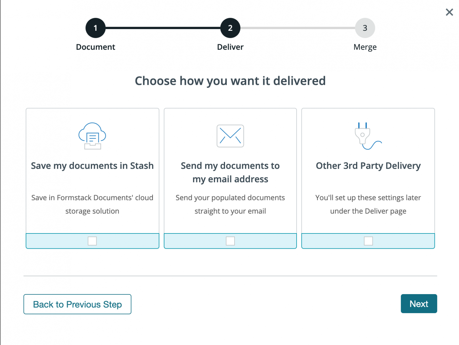 Formstack Documents Product Screenshot