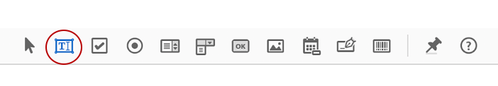Adding a text box to adobe PDF