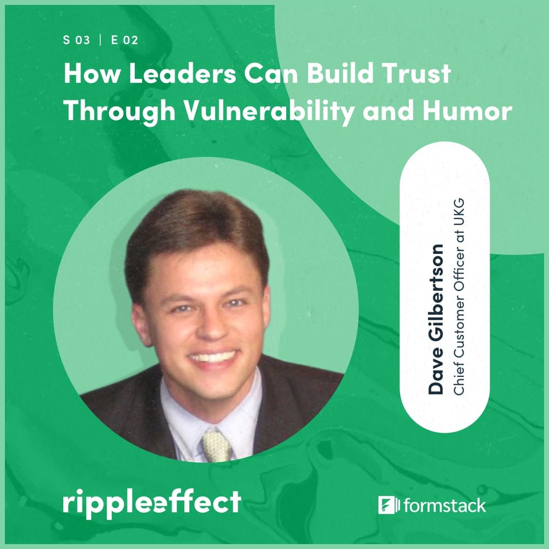 cover image of the Ripple Effect podcast episode How leaders Can Build Trust Through Vulnerability and Humor