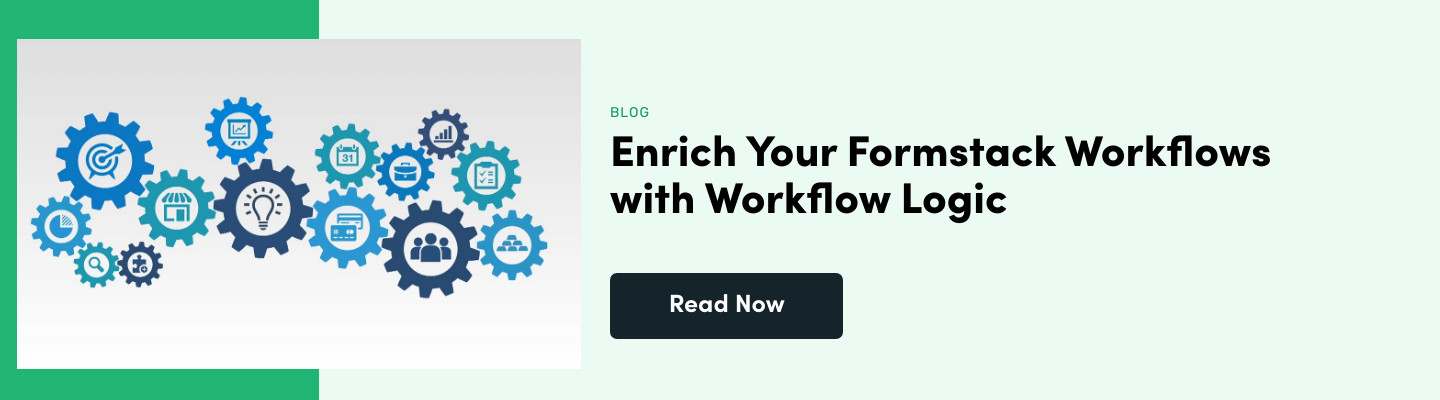 Enrich Your Formstack Workflows with Workflow Logic
