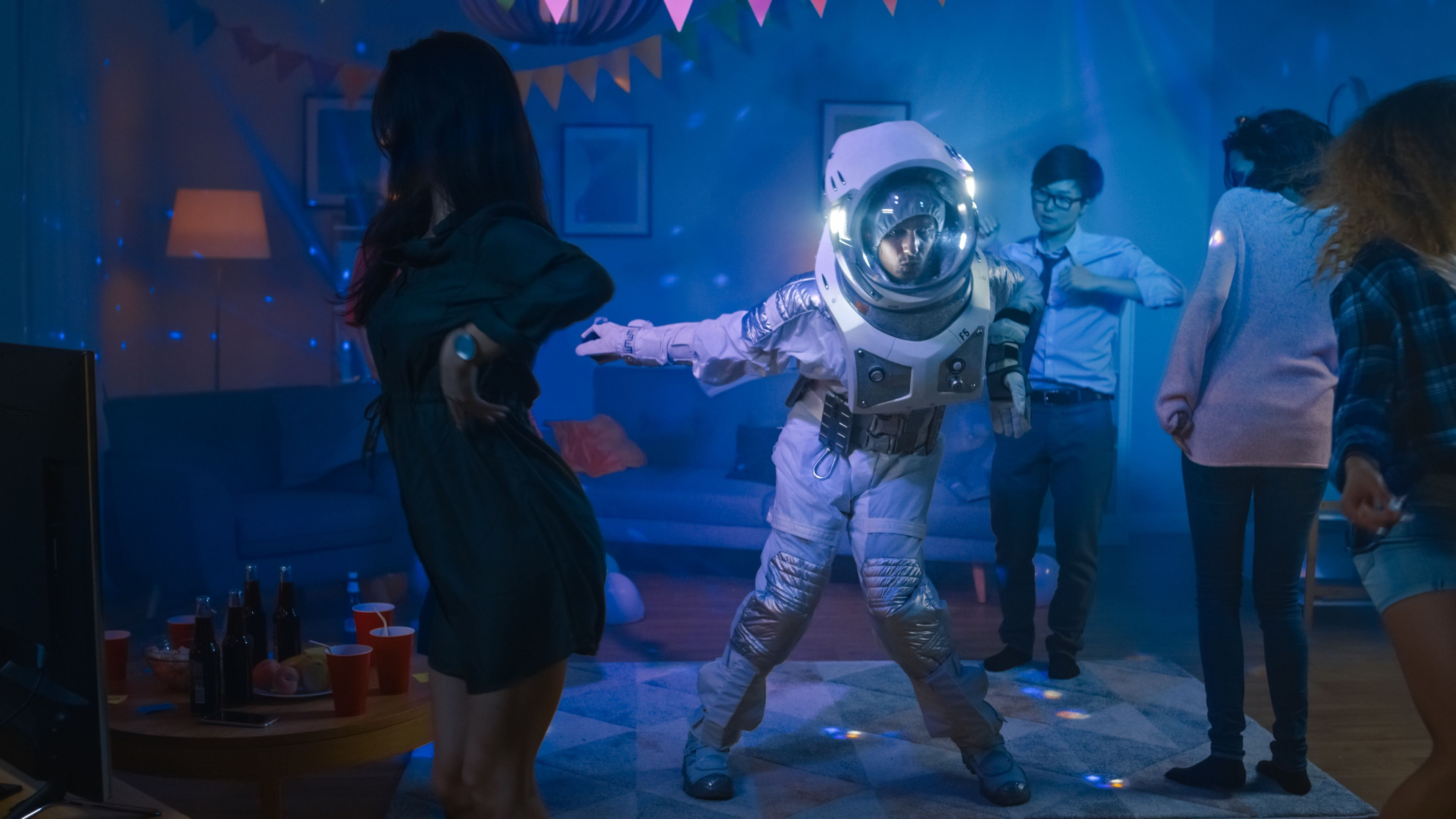Astronaut man at houes party. Does My Home Qualify for a Mortgage Relief Program?