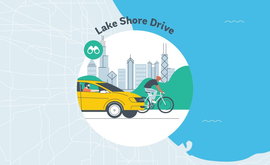 Lake Shore Drive Graphic