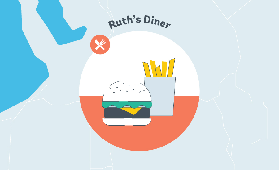 Ruth's Diner Graphic