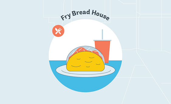 fry bread house graphic
