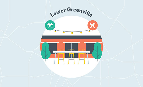 lower greenvile graphic