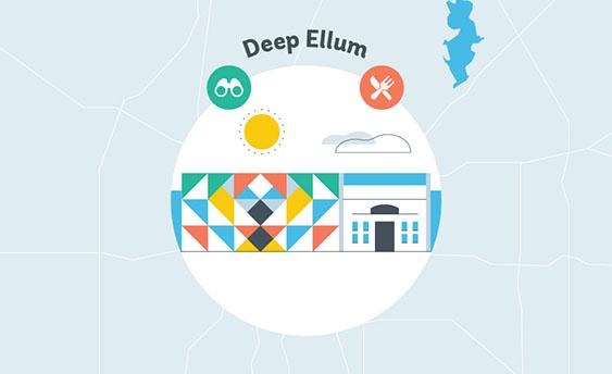 deep ellum graphic