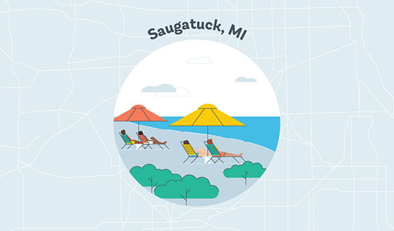 saugatuck mi graphic