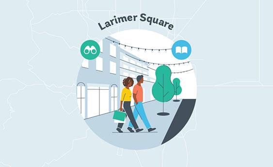 larimer square graphic