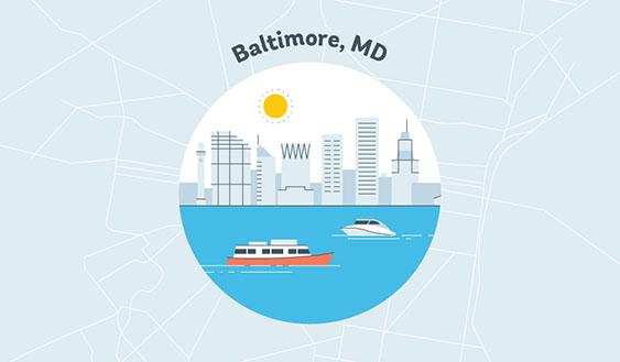 baltimore md graphic