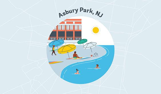 asbury park nj graphic