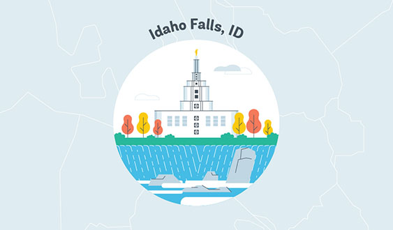 idaho falls id graphic