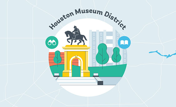 houston museum district graphic