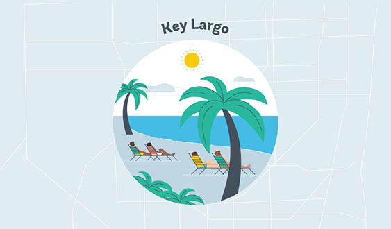 key largo graphic