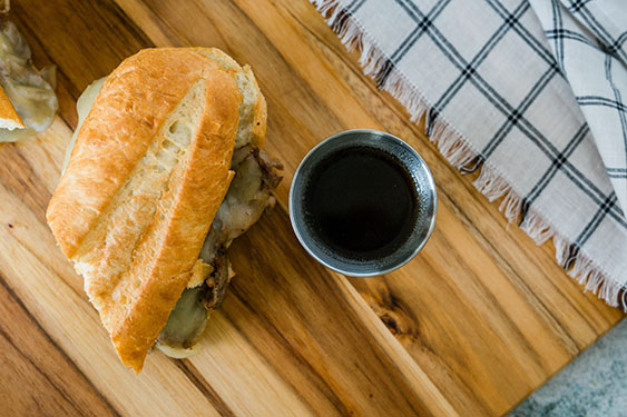 los angeles french dip sandwich