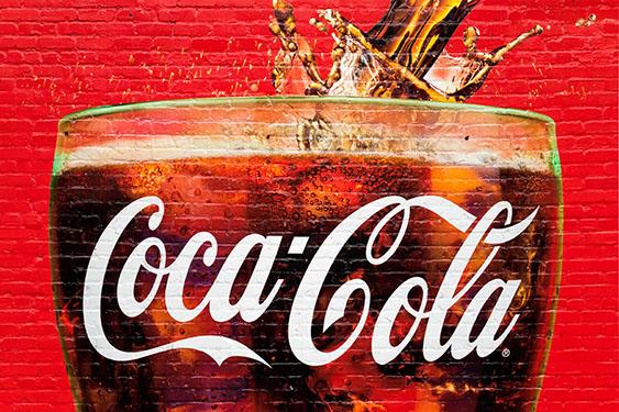 coca-cola wall art