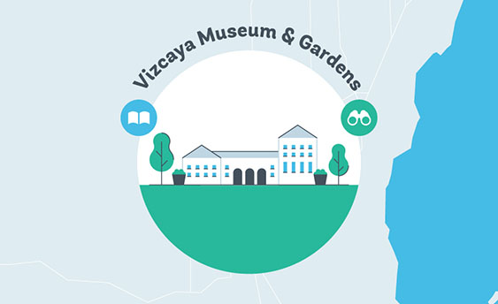 vizcaya museum and gardens graphic