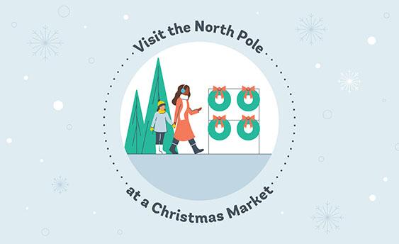 christmas market graphic