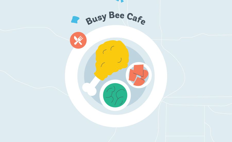 things to do in atlanta busy bee cafe graphic