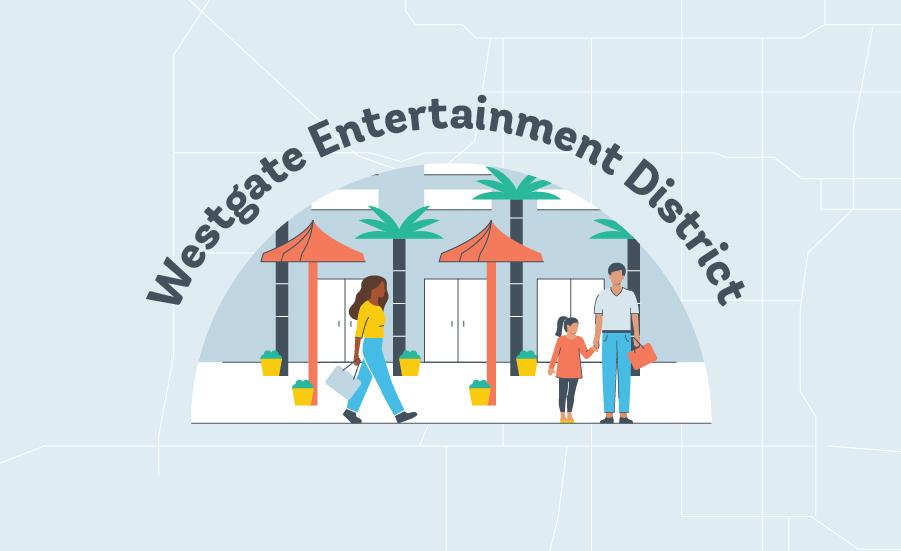 Phoenix Westgate Entertainment Graphic