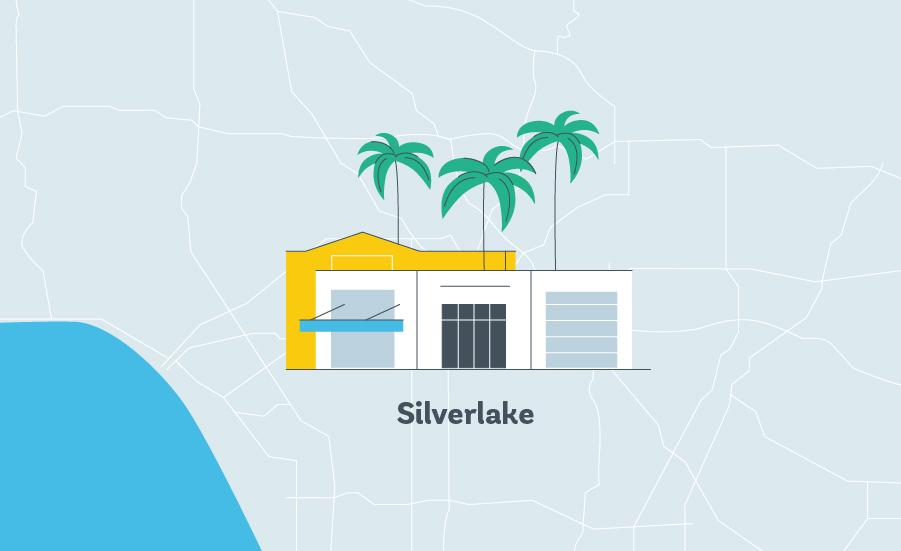 sliverlake LA graphic
