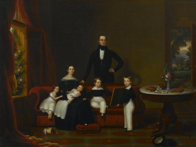 Frederick Spencer, Family Group