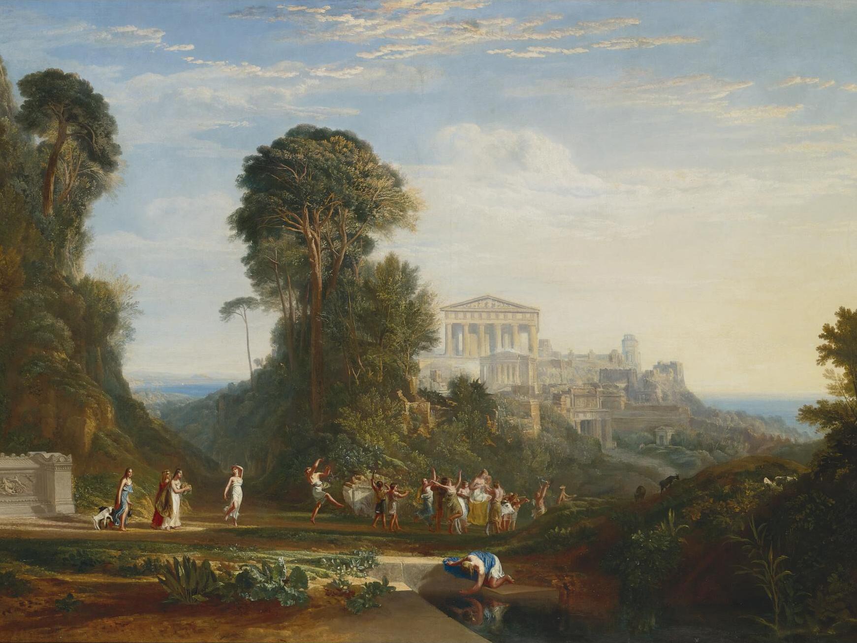 Joseph Mallord William Turner, The Temple of Jupiter