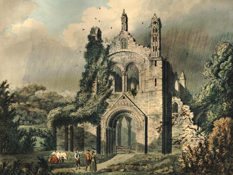 James Gandon (1743-1823): Kirkstall Abbey (c.1790)