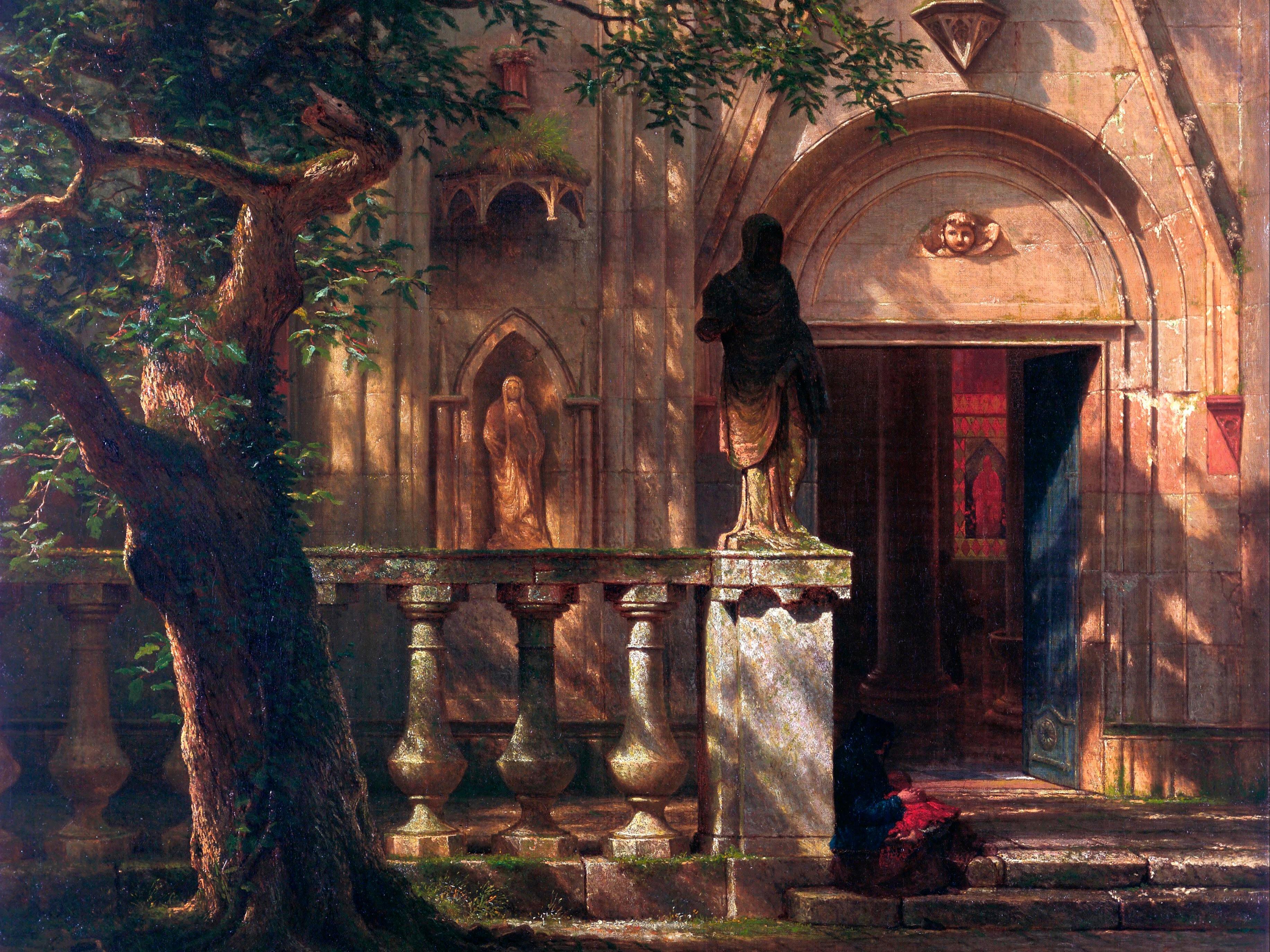 Albert Bierstadt, Sunlight and Shadow