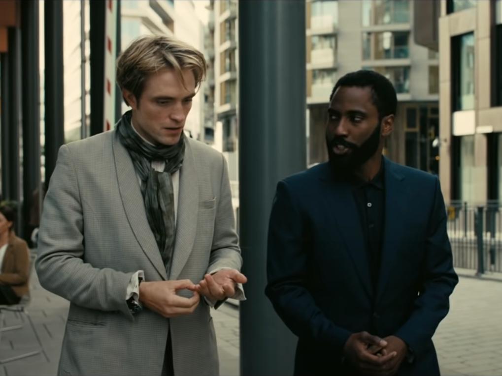 A scene from Christopher Nolan's 'Tenet'