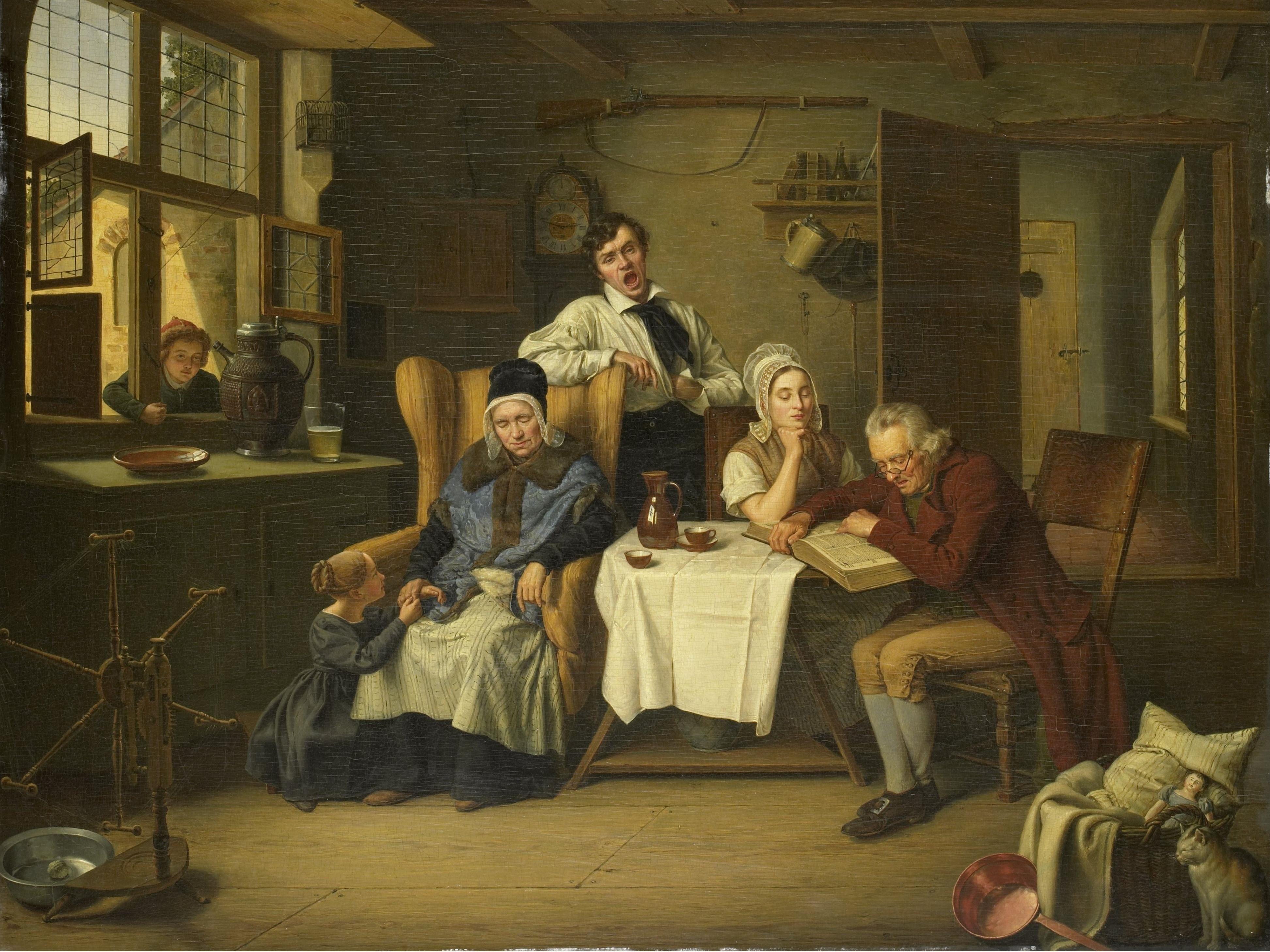 Bijbellezen, Eduard (1831)