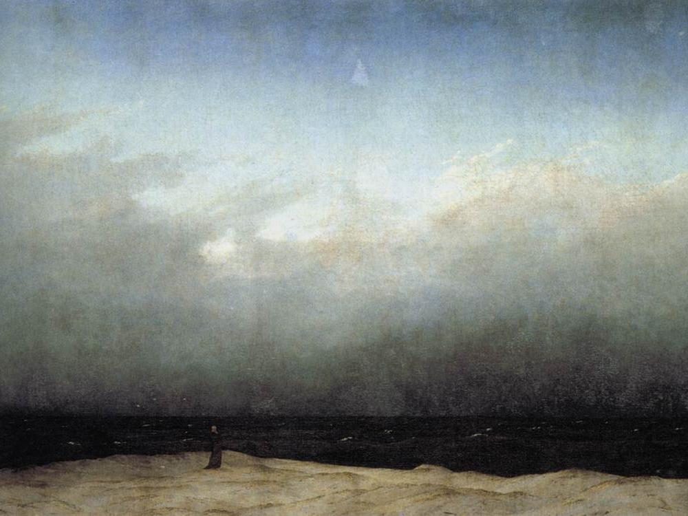 Monk by the Sea, Caspar.