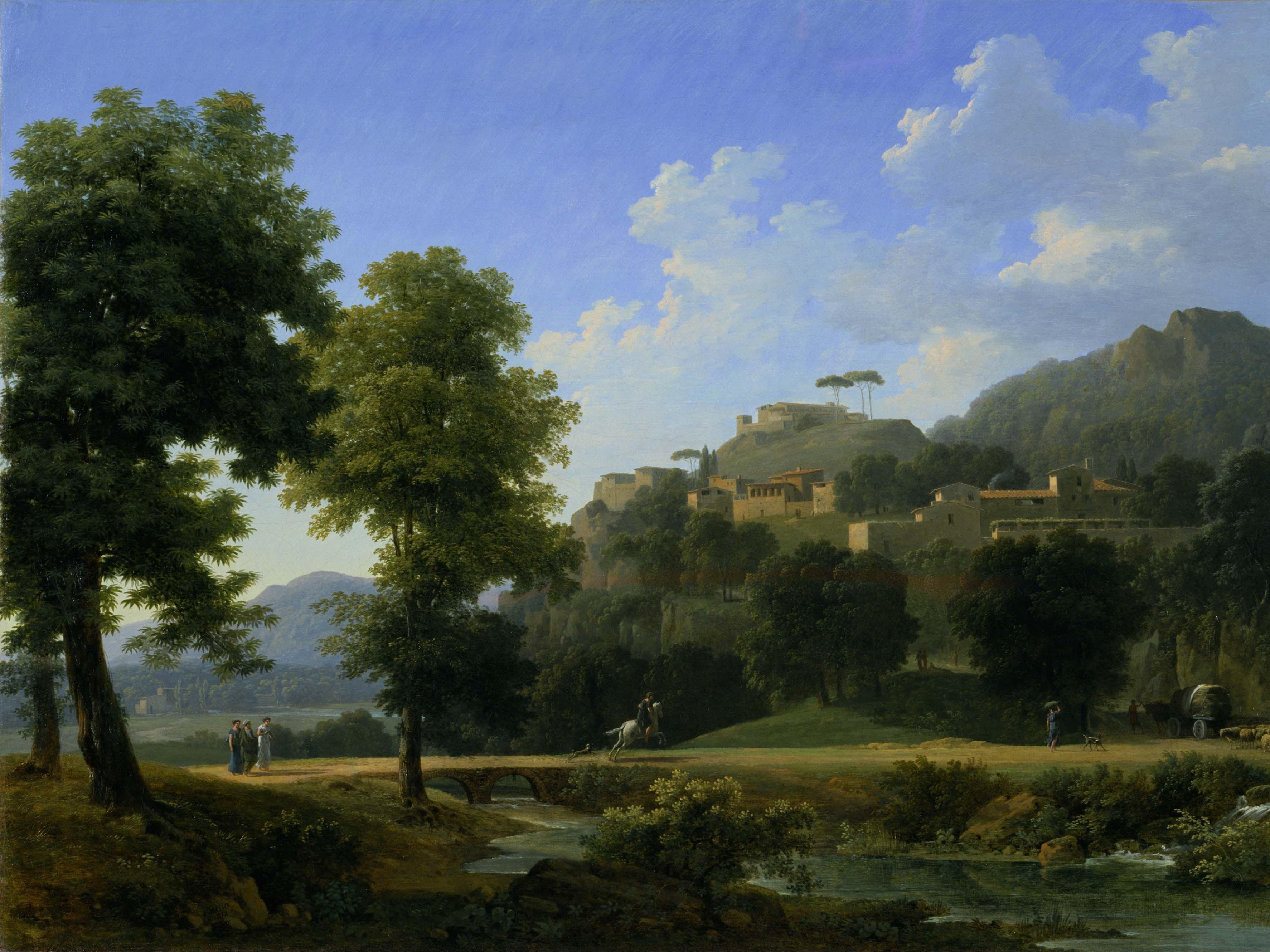 Jean-Victor Bertin: Landscape
