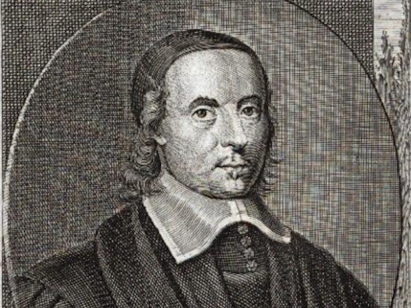 Engraving of Joseph Allein