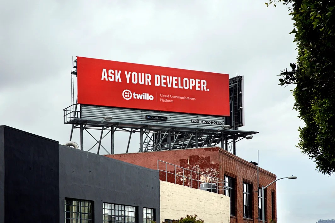 Twilio billboard