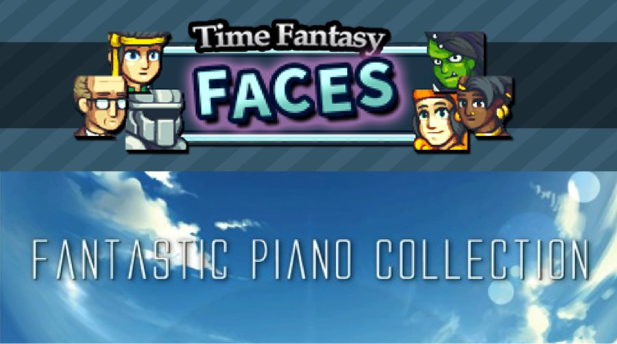 New Releases: Time Fantasy Faces, Fantastic Piano Collection
