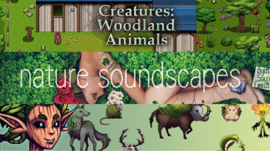 New Releases - Creatures: Woodland Animals, Nature Soundscapes